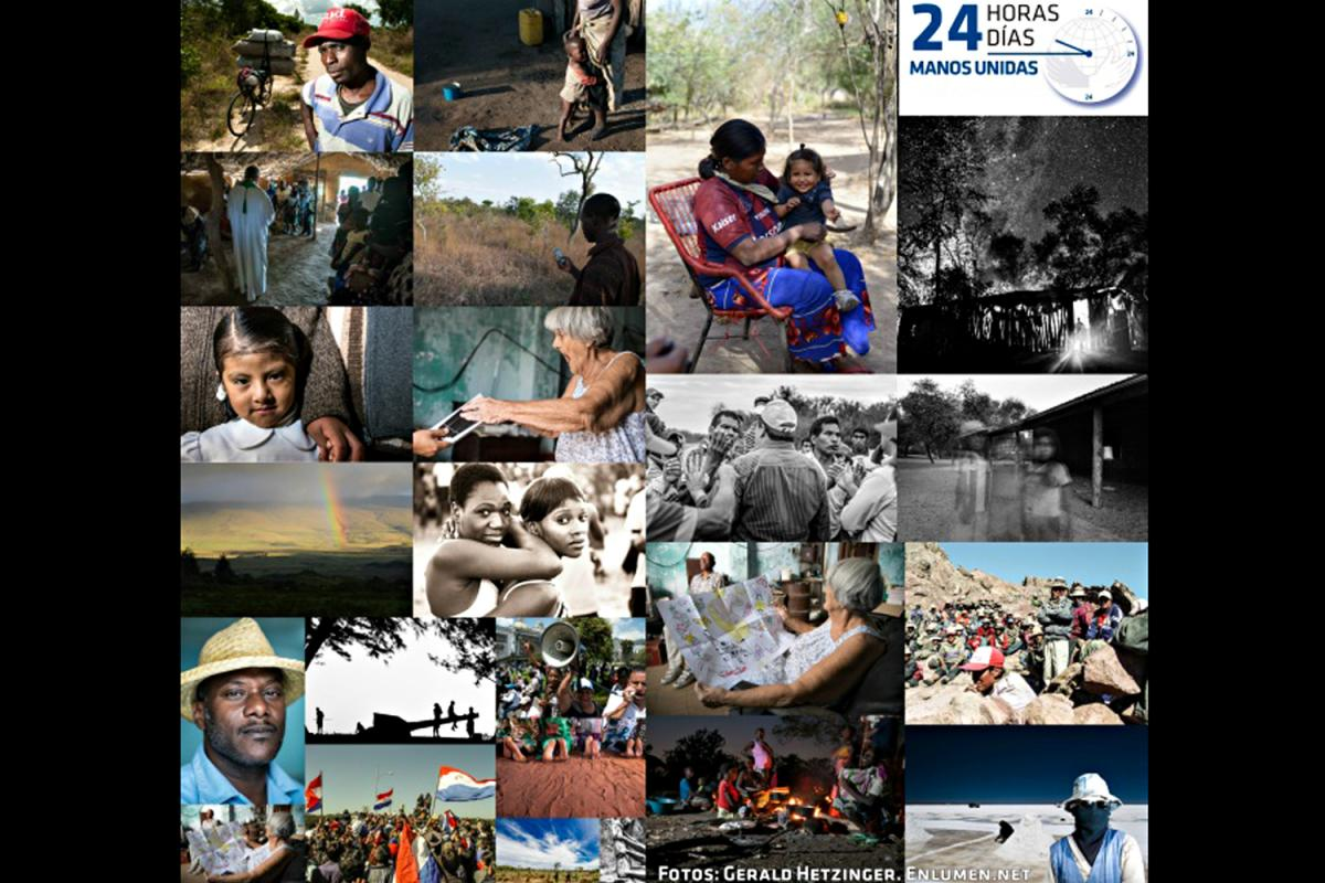24 fotografías, 24 razones para la Campaña 24 Horas de Manos Unidas 2016