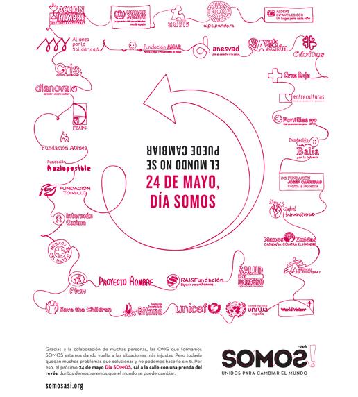 Somos Así - Mans Unides (35 ONGs)