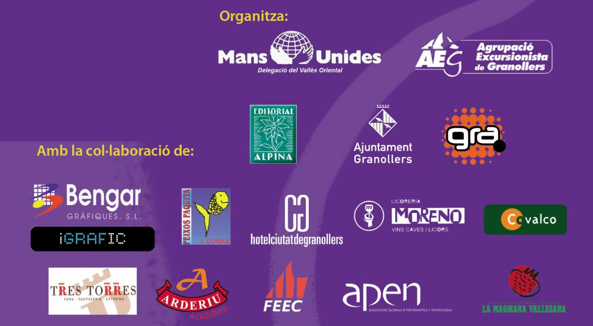 Empreses Col·laboradores de la Caminada Nocturna Solidària de Granollers