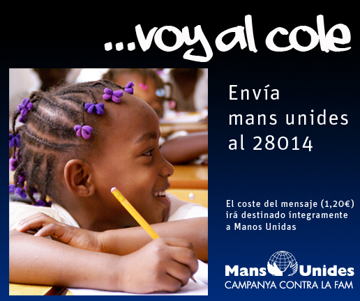 Campaña Solidaria educación Gracias a ti