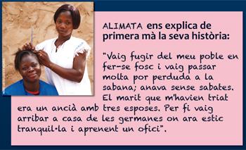 Campanya solidària Burkina Fasso - Testimoni d'Alimata