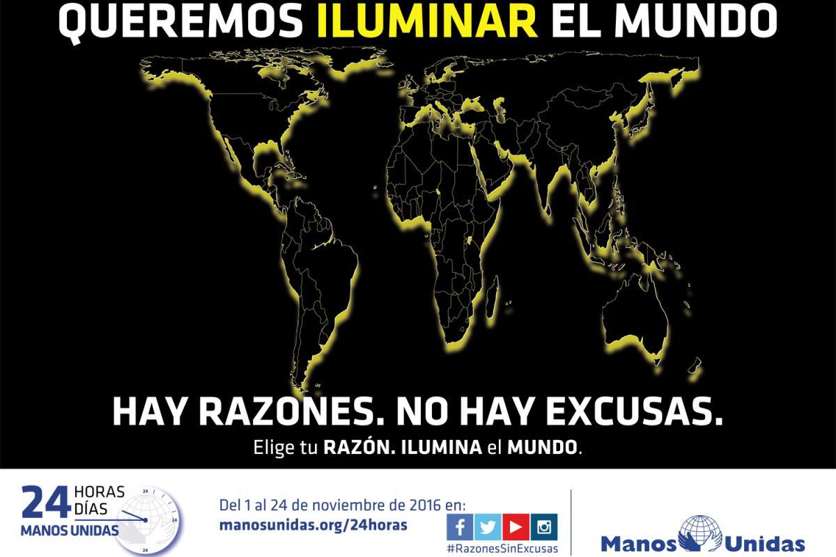 Campaña 2016 Manos Unidas 24 Horas