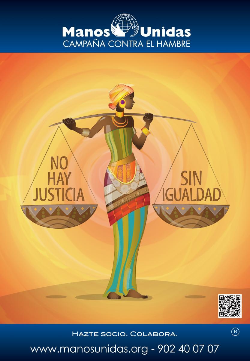 Cartel Campaña Manos Unidas 2013