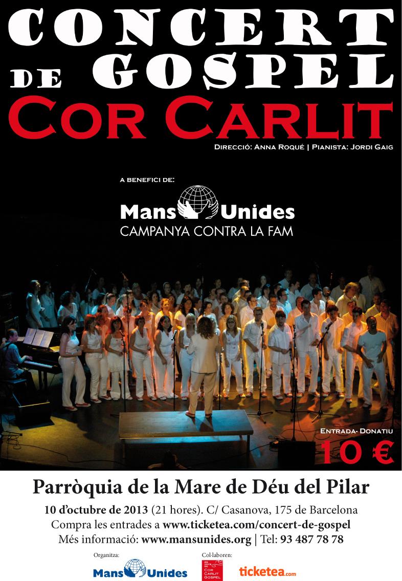 Concierto de góspel Cor Carlit