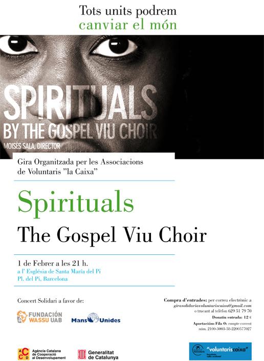 Cartell Gospel Viu Spirituals
