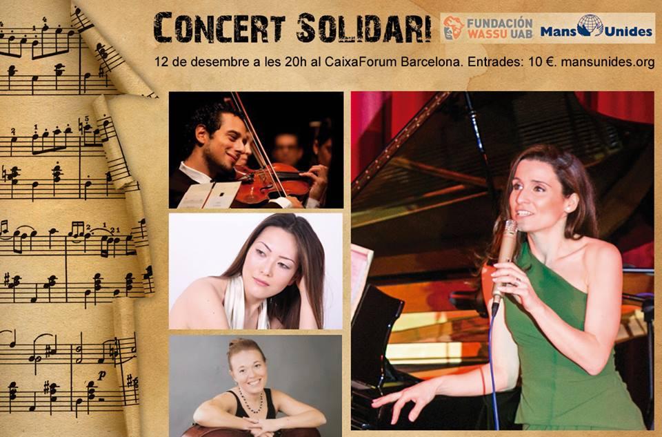 Intérpretes de primer nivel participan en el concierto benéfico en favor de Mans Unides ONG