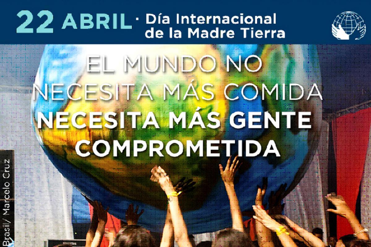 Cartell del Dia Internacional de la Mare Terra 2017