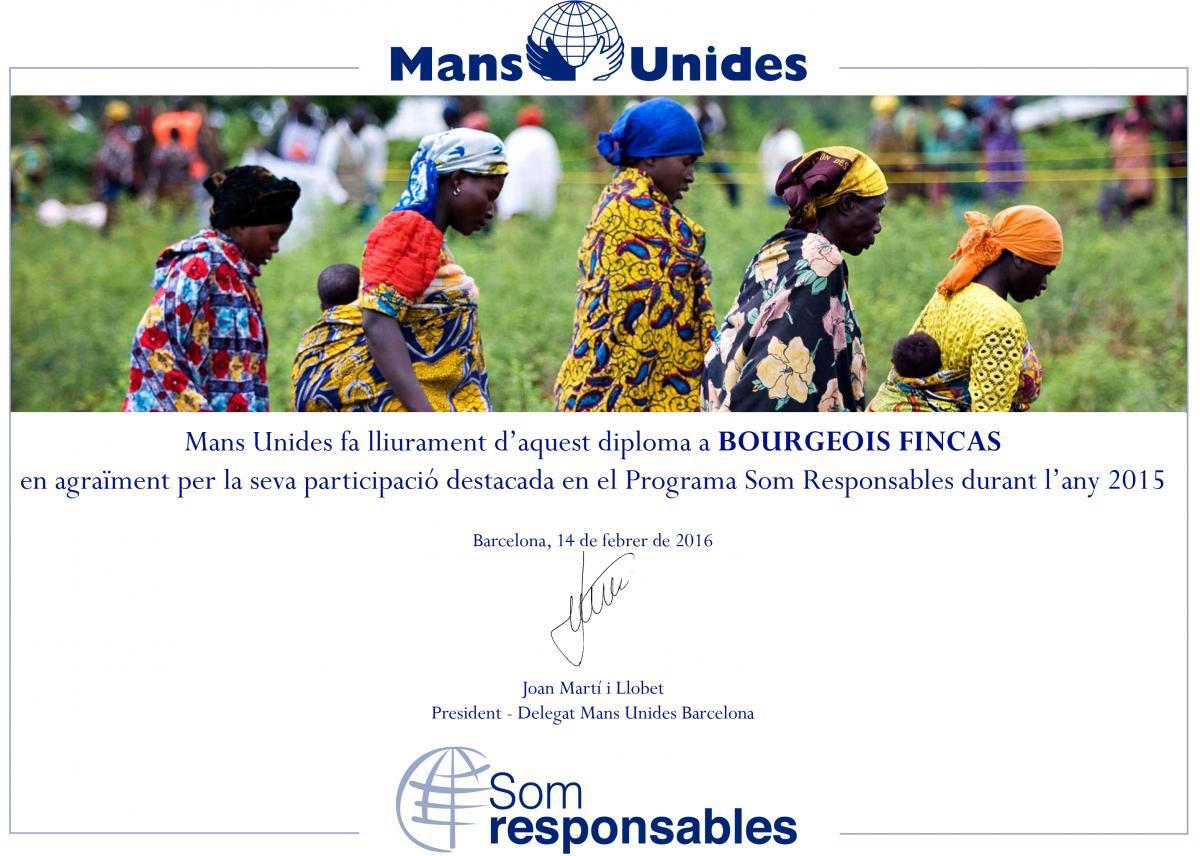 Diploma Fincas Bourgeois