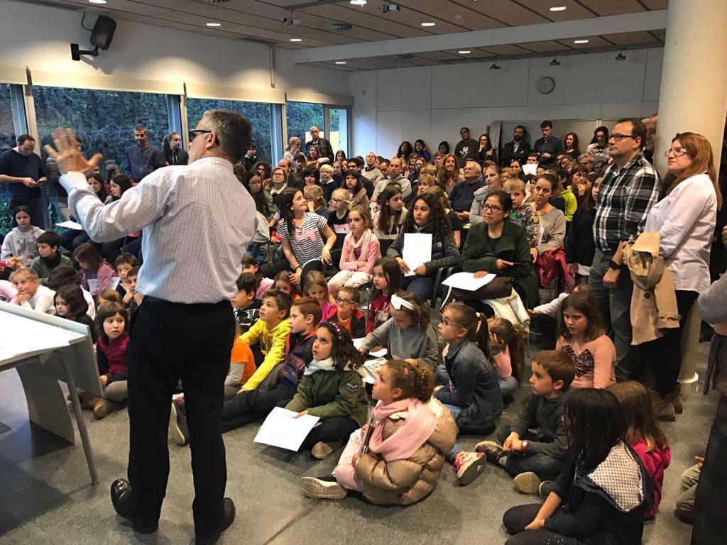 El gOvi lliura els premis de dibuix infantil en suport de Mans Unides