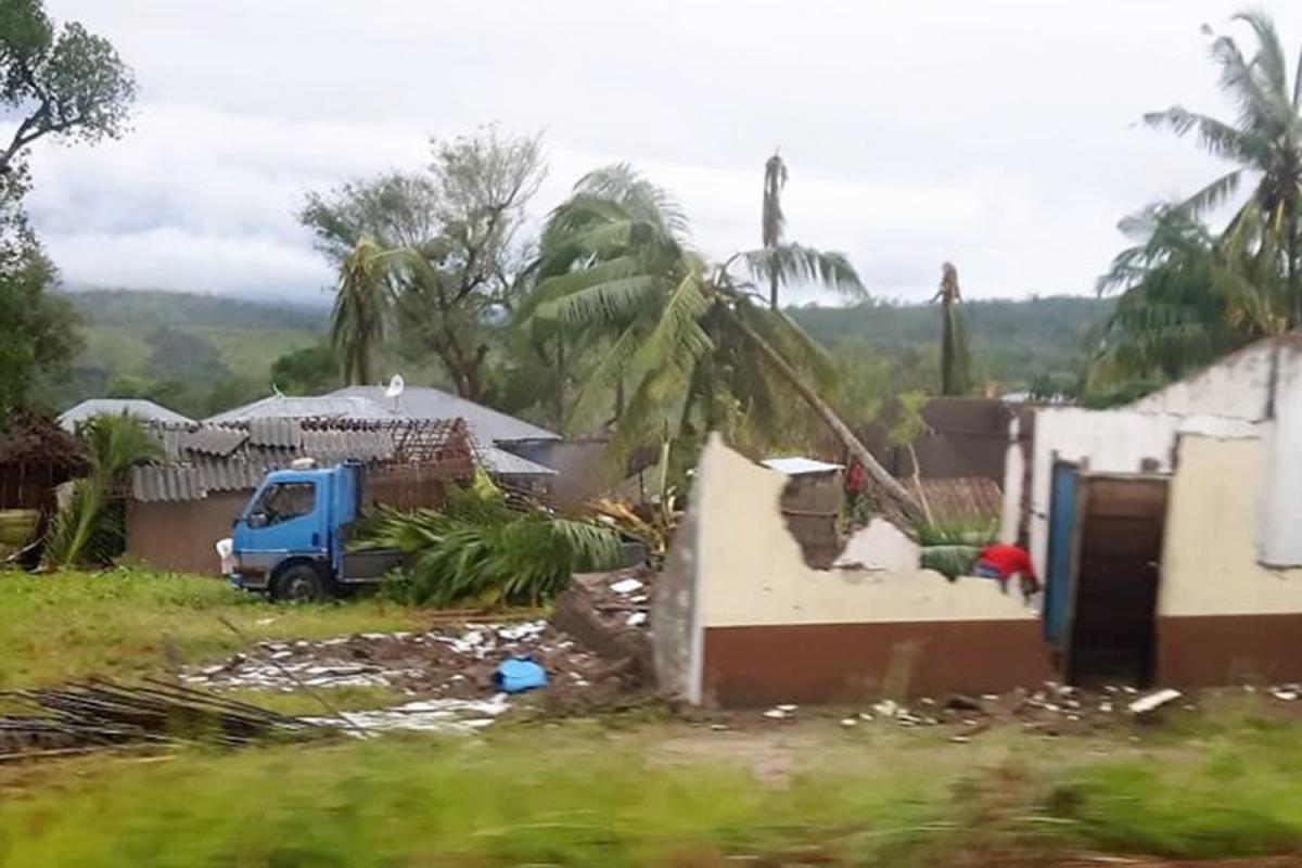 Enviamos a Macomia (Mozambique) ayuda de emergencia por el paso del ciclón Kenneth