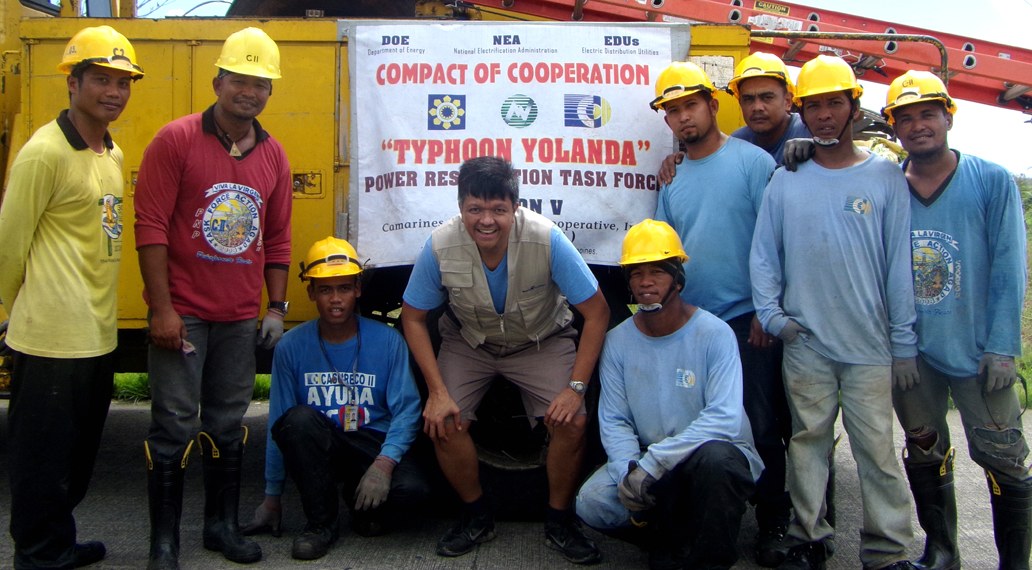 Emergencia Filipinas - Reconstrucción