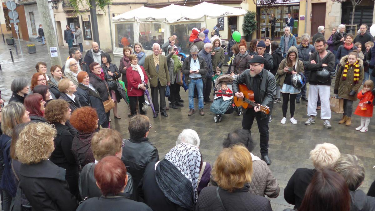 Grup de gospel al Festival de la Parròquia Sant Joan d'Horta per a Mans Unides
