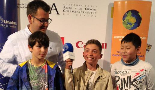 Gala final nacional del Festival de Clipmetratges de Mans Unides
