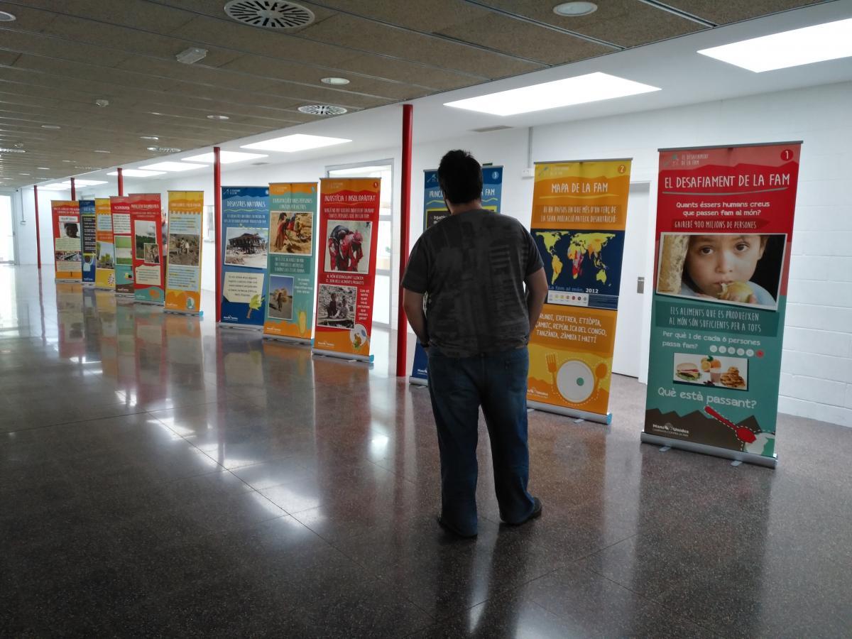 Exposició El Desafiament de la fam al món