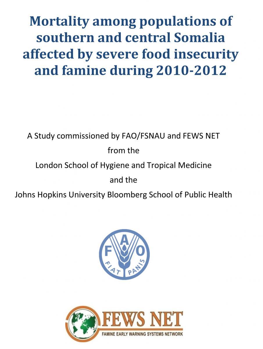 Informe crisis alimentaria en Somalia