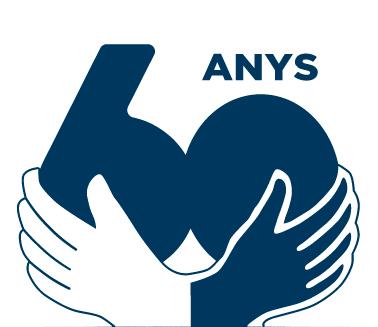 Logo 60 Anys Mans Unides