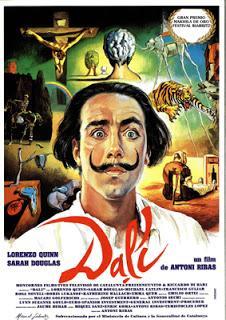 Cartel de la película Dalí, interpretada por Lorenzo Quinn