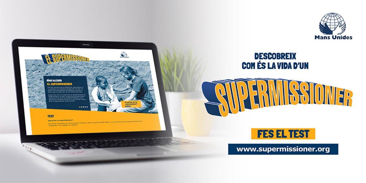 "Banner de la web ""El Supermissioner"""