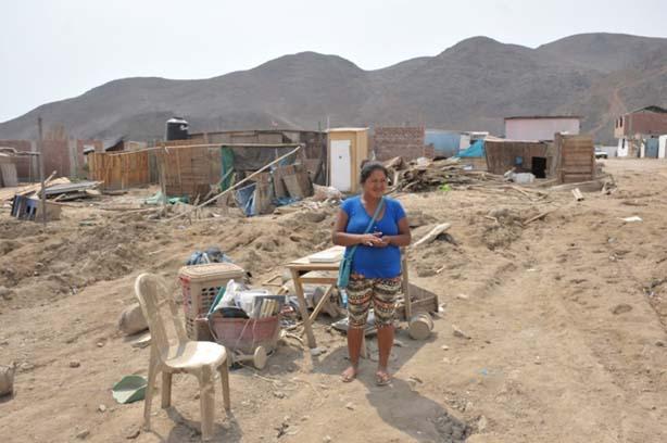 Ajuda inundacions al Perú