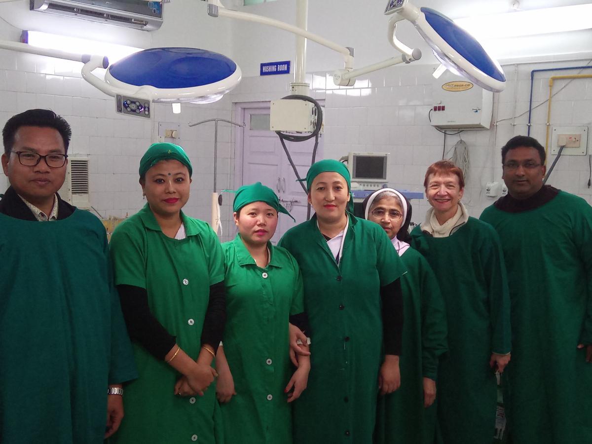 Mejora asistencia sanitaria hospital