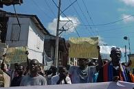 protestas contra MINUSTAH