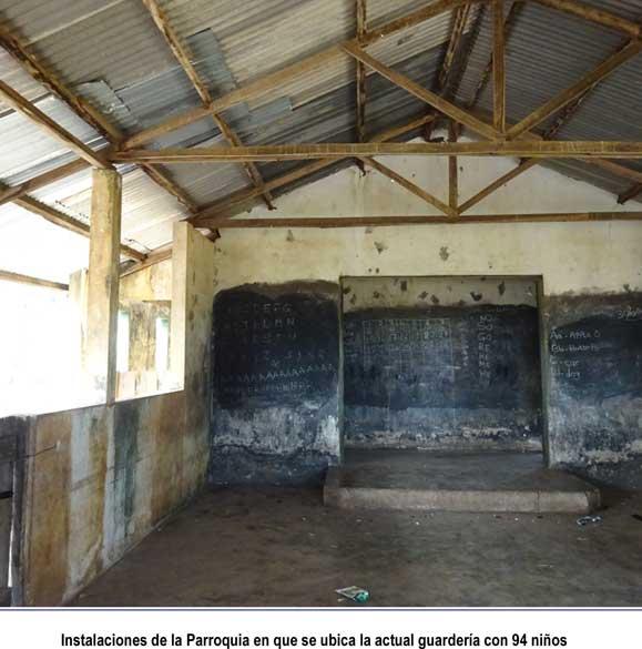 instalaciones de la guardería de la parroquia