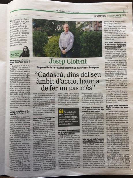 Entrevista a Josep Clofent