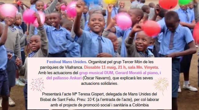 Festival de Mans Unides