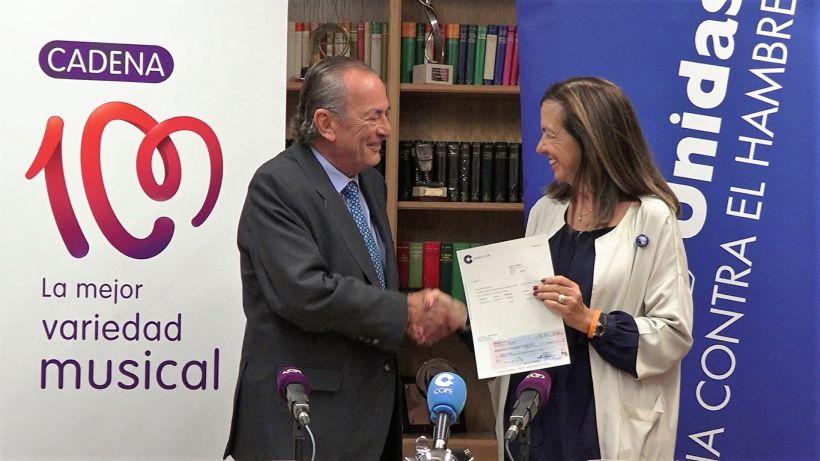 Acuerdo Cadena 100:Manos Unidas: Foto: Grupo COPE