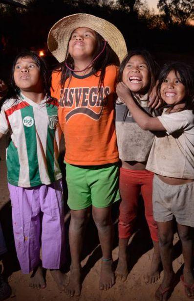 Un grupo de niños ayoreos totobiegosode.
