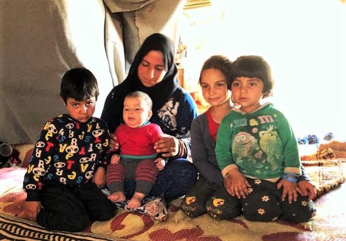 Campo de desplazados kurdos sirios. Foto: Manos Unidas