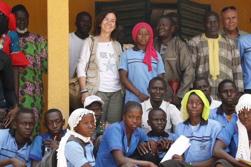 Centro de enseñanza Sitouke`ne (Senegal). Foto: Manos Unidas/Ana Pérez García