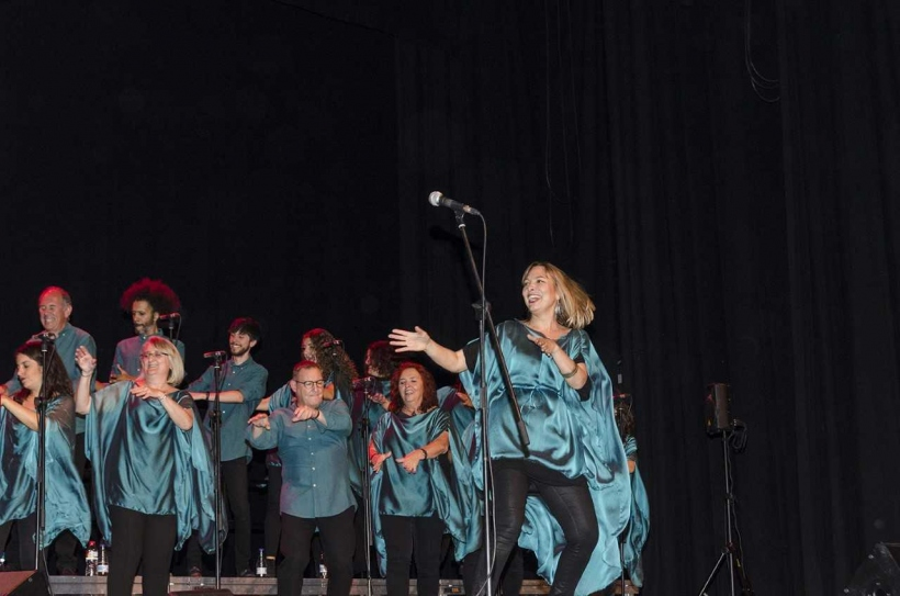 El públic va participar activament en el concert