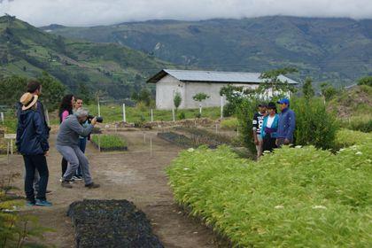 La Cooperación Española y El País visitan el trabajo de Manos Unidas en Ecuador