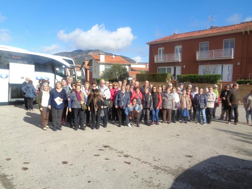 Excrusió solidària de Mans Unides Vilanova i la Geltrú