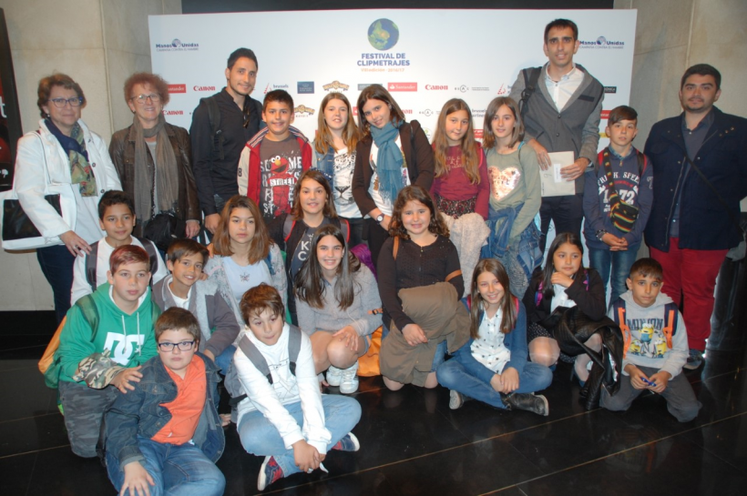 Acte Final Nacional de la VIII edició del Festival de Clipmetratges de Mans Unides a Madrid
