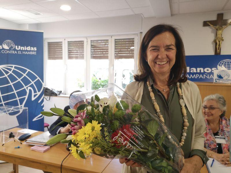 Clara Pardo, presidenta Electa de Manos Unidas. Foto:Marta Carreño