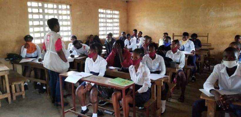 Violencia sexual en Sierra Leona - Foto Manos Unidas