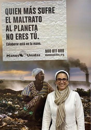 Janeth Rodríguez, misionera franciscana en Mali. Foto: Manos Unidas/IreneSanjuan
