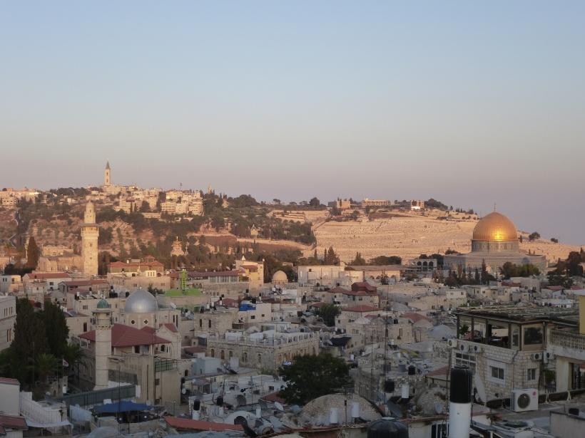 Vista de Jerusalem. Foto: Mans Unides / África Marcitllach