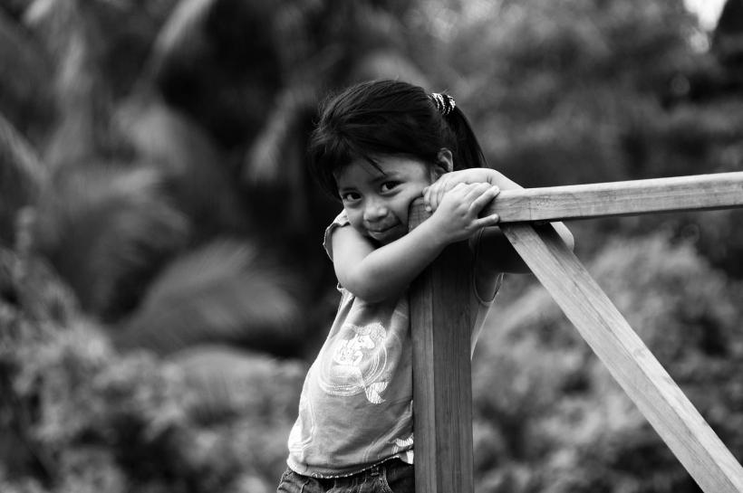 Nena a Guatemala (foto de Javier Fernández)