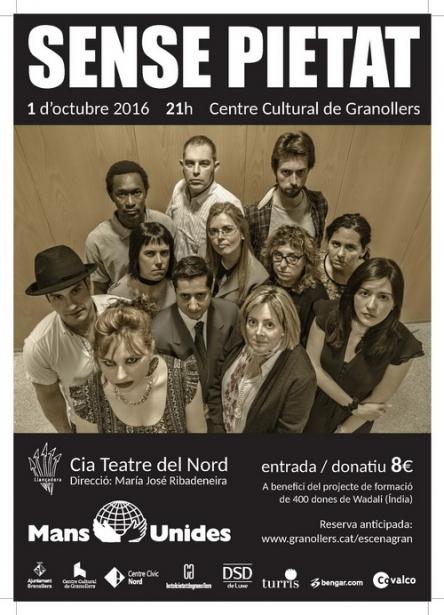 Obra de teatre solidària a Granollers