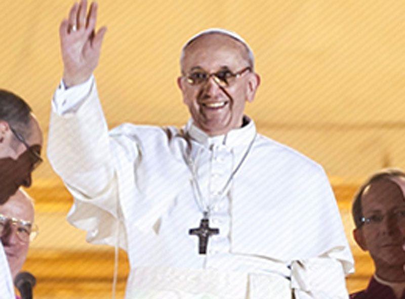 El Cardenal Jorge Mario Bergoglio, SJ Su Santidad el Papa Francisco- FOTO: The Vatican Today