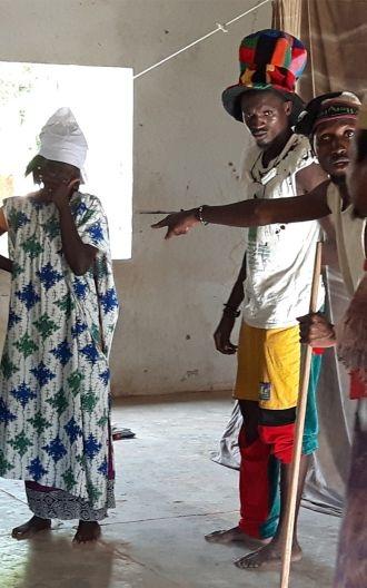 Teatro para cambiar vidas en Senegal