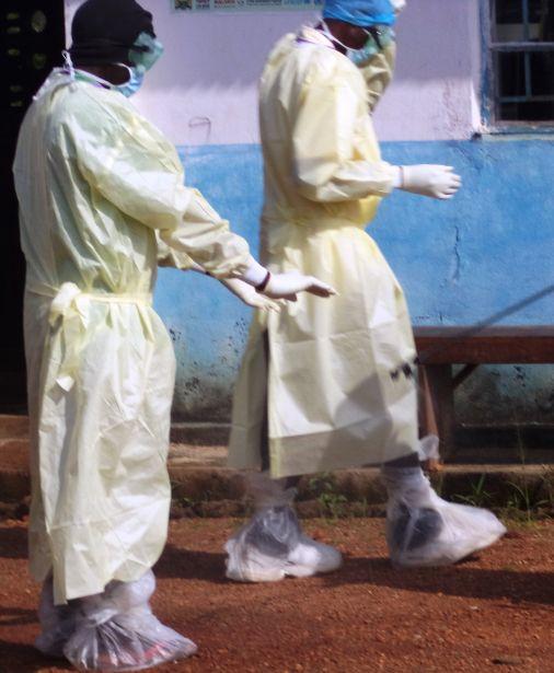 Simulacro ébola en Sierra leona. Proyecto FID/SL