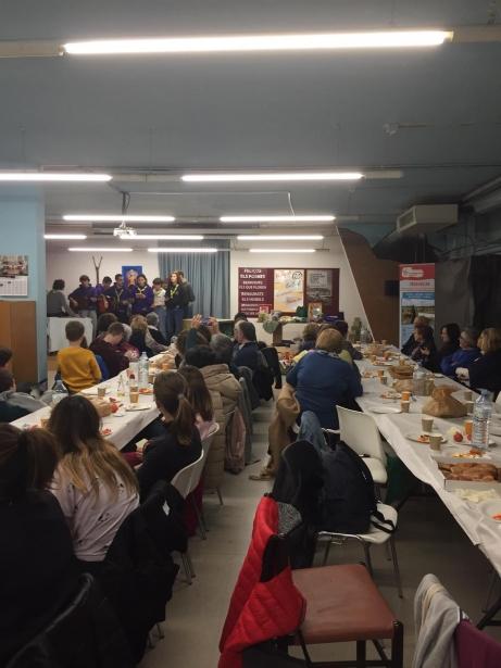 Sopar de la fam a la parròquia Sant Joan de Reus