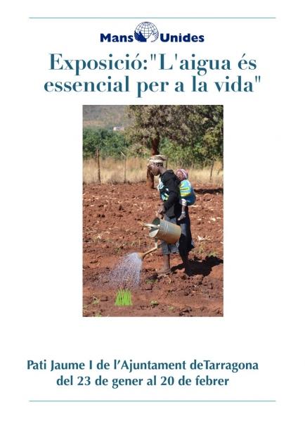 Els projectes d'aigua són clau per al desenvolupament