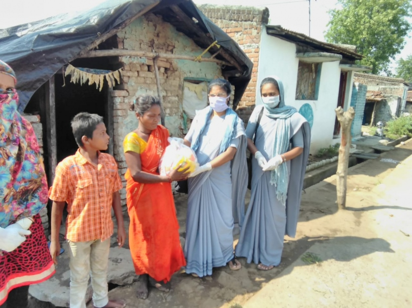 Coronavirus_Ayuda de emergencia en India_Foto: Manos Unidas