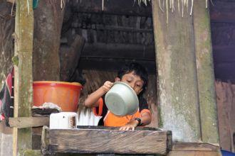 Fortaleciendo la salud en una barriada de Tegucigalpa. Foto:Manos Unidas/Marta Carreño