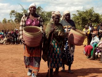 Dotación de agua para comunidad rural